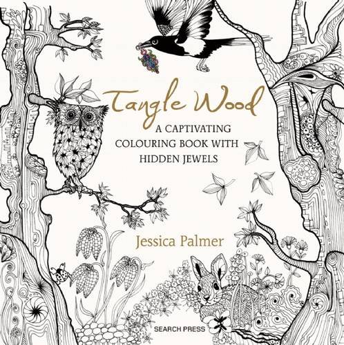 Tangle Wood Is A Stunning New Colouring Book Released For Sale Just 10 Days Ago By Search Press Ltd It In The Same Vain As Animal Kingdom And Enchanted