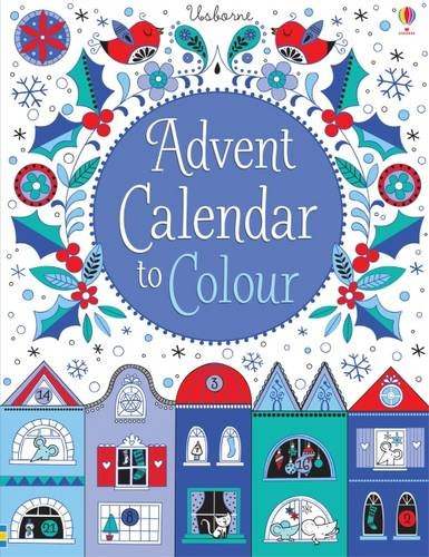 Advent Calendar To Colour By Stella Baggott Colour With