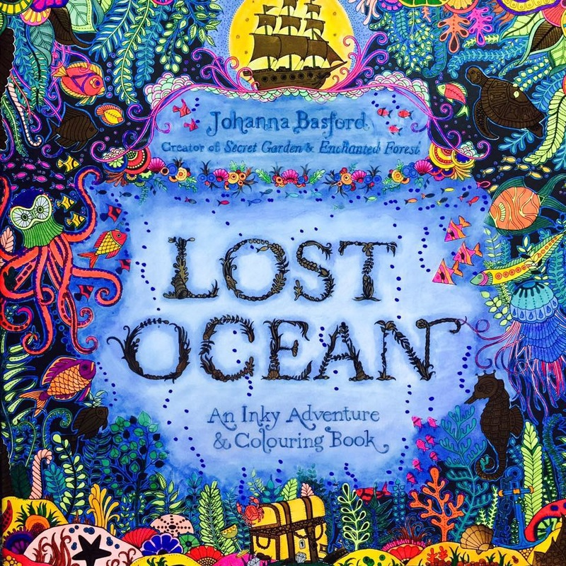 Lost Ocean by Johanna Basford - Colour with Claire