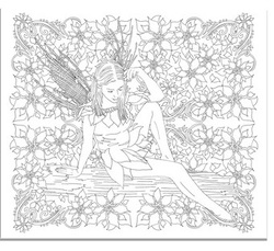 Kickstarter: Fairies Colouring Book of Secrets - Colour with Claire