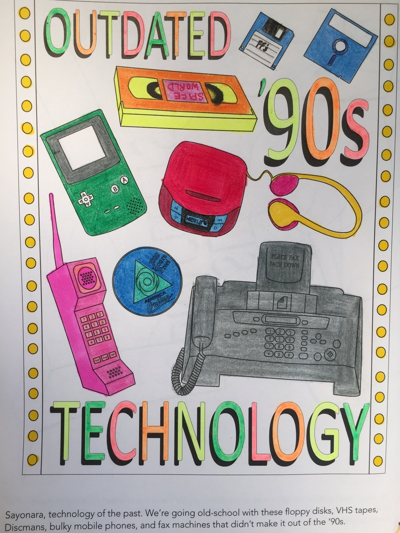The 1990s Colouring Book By James Grange Colour With Claire