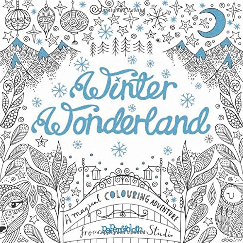 Winter Wonderland by PaperCloth Studios Colour with Claire