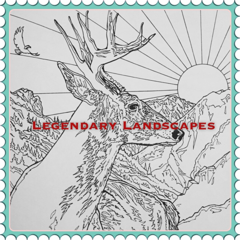 Legendary Landscapes By Colorworth Publishing