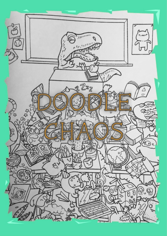 Doodle Chaos By Irvin Ranada