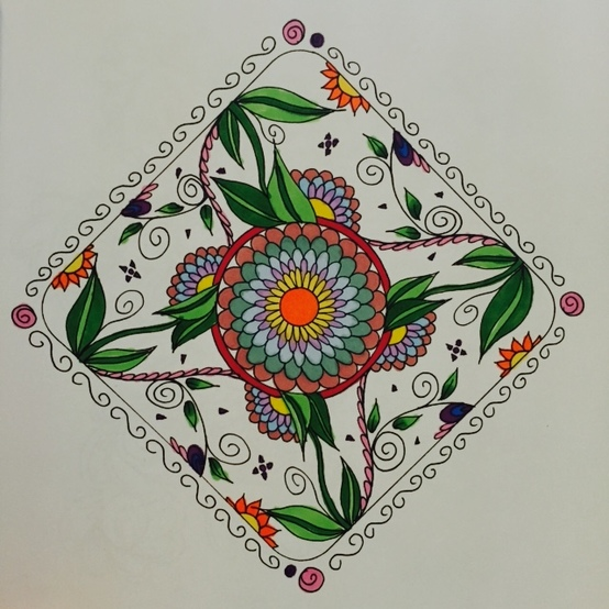 The Artful Mandala By Cher Kaufmann Colour With Claire