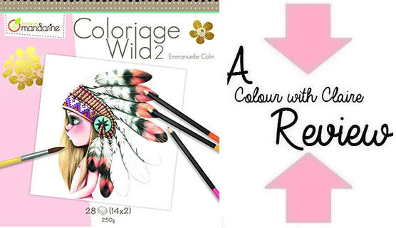 Coloriage Wild 2 By Emmanuelle Colin Colouring Book Review